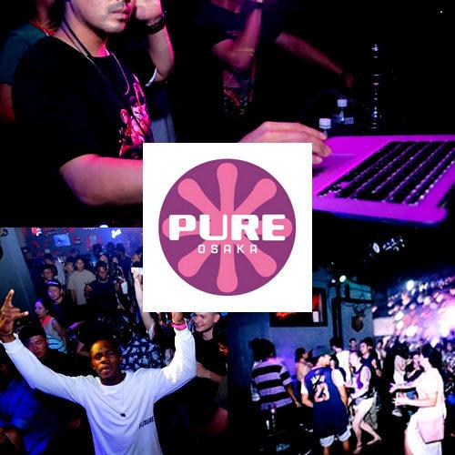 【大阪クラブ】PURE OSAKA - ピュア大阪は大阪人気のクラブです。大阪のクラブ、ピュア大阪は、お酒が飲み放題のクラブです。またミュージック面ではピュア大阪はHIPHOP・ブラックミュージックの聖地と呼ばれています。大阪で国際的なクラブイベントを楽しむならピュア大阪一択と言う人も多いです。